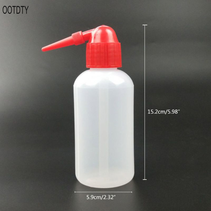 250ML Plastic Squeeze Type Watering Bottle Succulent Plant Flower Water Can With Long Curved Nozzle Beak Dropper in Water Cans from Home Garden