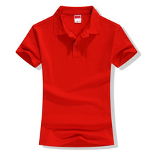Basic Cotton Polo Neck Women's T-Shirt