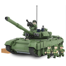 Winner 456pcs Military Battle Tank Model Toys Russia T90A Marine Hero Legoe Building Blocks Assembled Compatible Minifigure