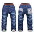 SKZ-312 Envío de la Alta Calidad Niños Pantalones Gruesos de Invierno de Las Muchachas Calientes Cómodos Pantalones Vaqueros Bebé de La Manera Al Por Menor
