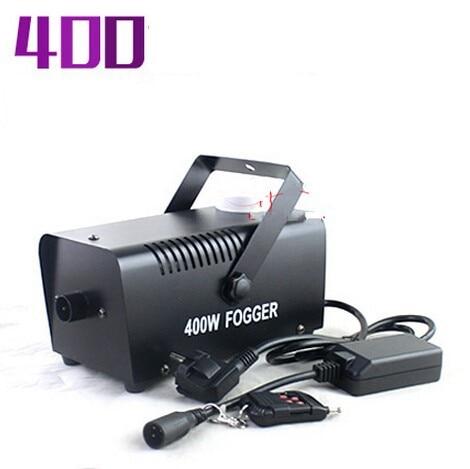 400W Fog Machine RC Stage Effect Smoke Machine Remote Control Smoke Machine Fogger Stage Lighting Fog Equipment DHL Free Ship