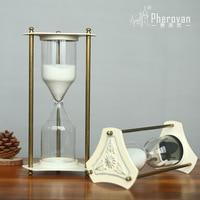 European style retro decorative carving a hourglass hourglass decoration decoration Home Furnishing study