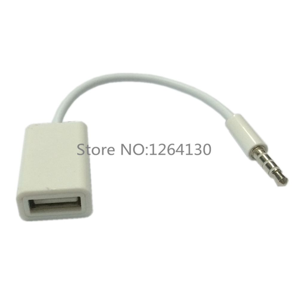 buy usb audio jack adapter to usb female cable adapter audio aux jack. Black Bedroom Furniture Sets. Home Design Ideas