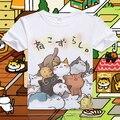 Neko Atsume Cute Cat Meow T Shirt for Unisex Free Shipping