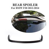 Carbon Fiber Hatchback Rear Roof Spoiler For BMW 1 Series F20 118i 125i 2012 2014 Rear Window Spoiler Wing Car Styling