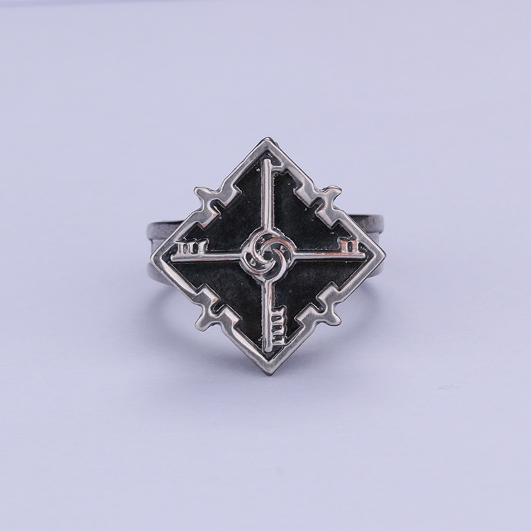 Dishonored 2 Emily Cosplay Ring Unisex Zinc Alloy Rings Fashion Souvenir Gift Cosplay Accessories Christmas Halloween Party Gift (4)