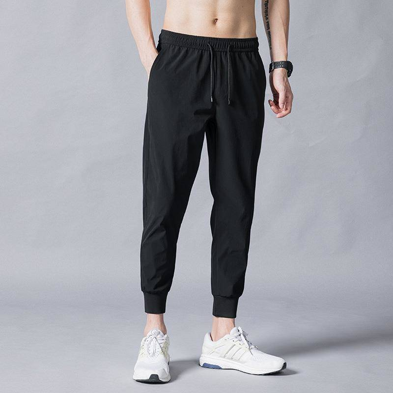 Korean Version Trendy Trousers Men's Small Feet Nine Minutes Hallon Pants Casual Gashouqiuqiu Legged Pants Winter