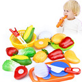 12Pcs/Set Pretend Play Classic Kitchen Toys Funny Cut Interactive Health DIY Toy Kids Children Favorite Girl Fruits Vegetables