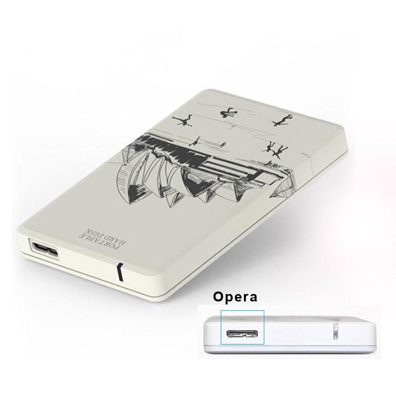 """Внешний жесткий диск 250 г Жесткий диск 2.5 """"SATA HDD корпус внешнего USB 3.0 5 Гбит Поддержка жесткий диск ноутбука R Портативный HDD u25p"""