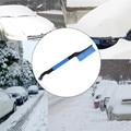 High Quality EVA Cotton Handle Shovel Scraper For Removal Ice Short Brush Snow Remove Tool