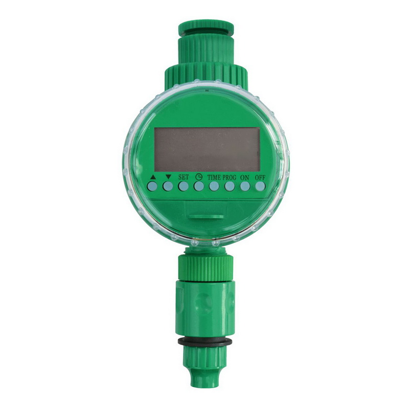 Automatic Water Timer Garden Irrigation Controller  LCD Display Home Ball Valve Garden Watering Timer Irrigation Controller(China)