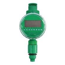 Автоматический таймер воды садовый оросительный регулятор жк-дисплей домашний шаровой клапан садовый полив таймер полива контроллер