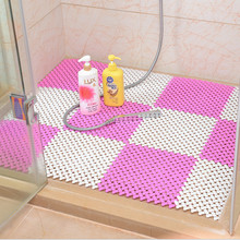 25*25CM,Candy Color Foot DIY Splice bath mat massage foot for stitching anti slip shower as floor decoration accessory