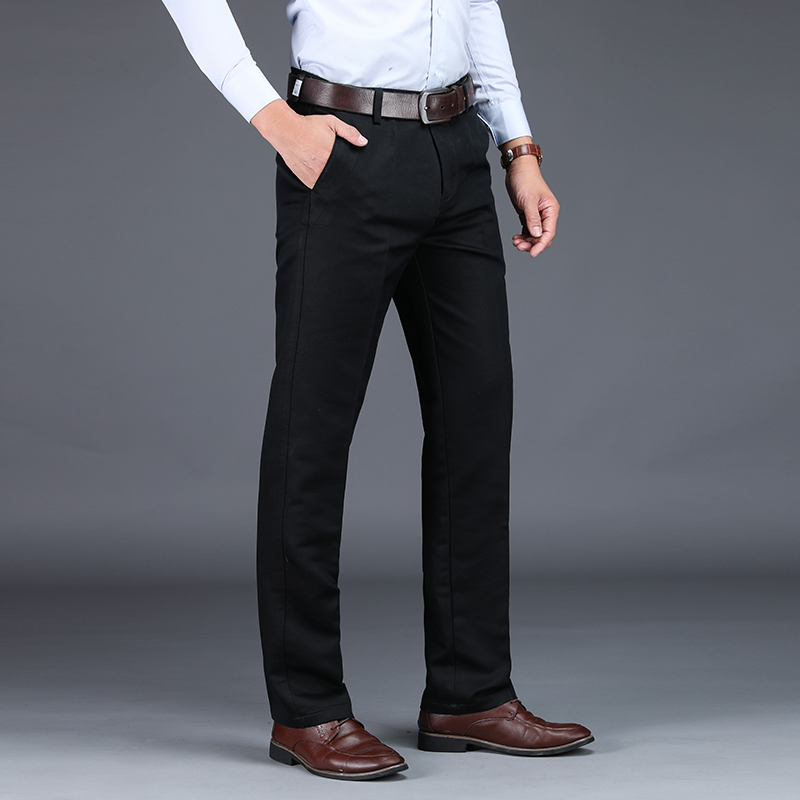 Image 5 - VOMINT 2020 Mens Suit pants Fashion Stretch Slim Straight Men 