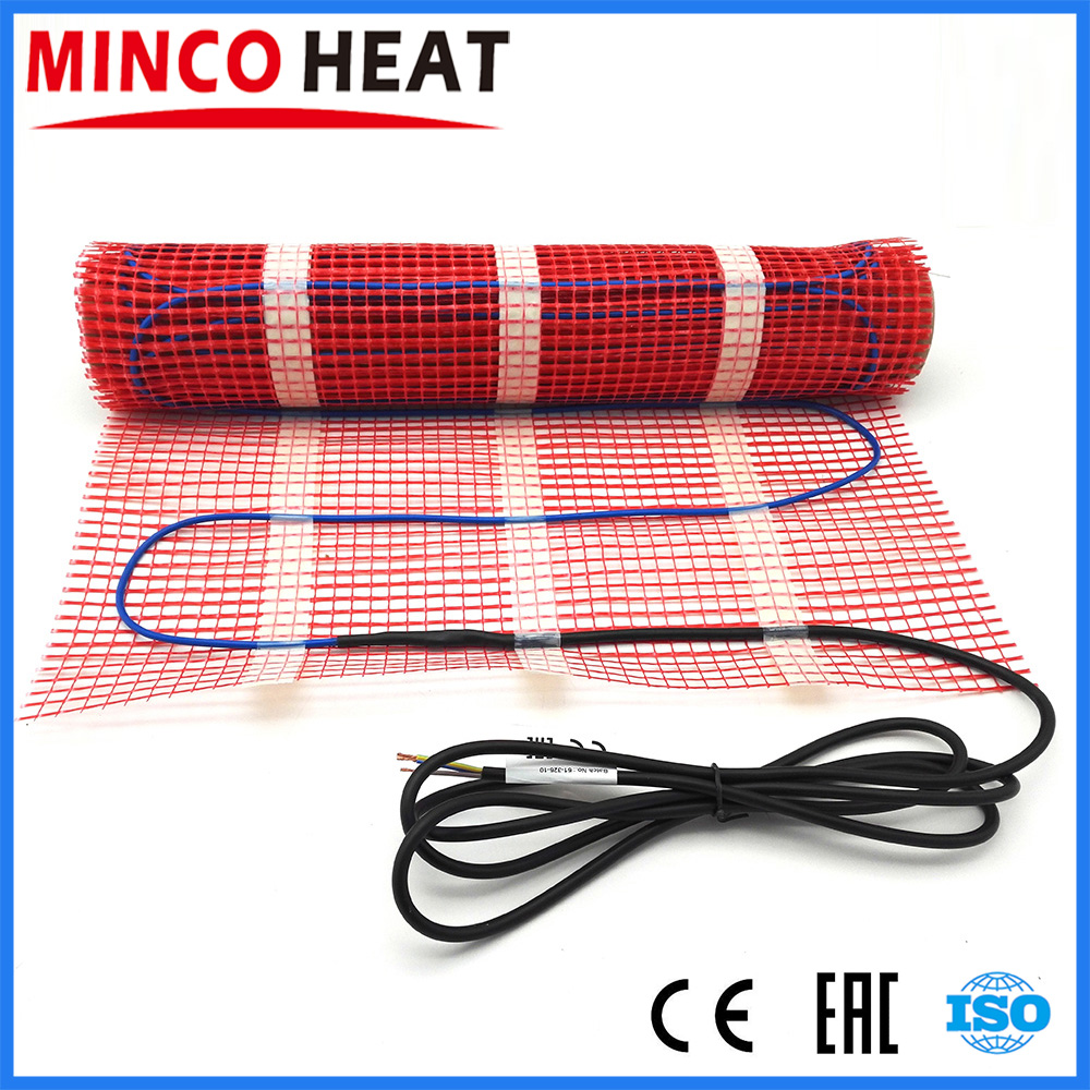 ALL SIZES 150w m2 infrared floor heating mat twin conductor electric warm strand mat kits with