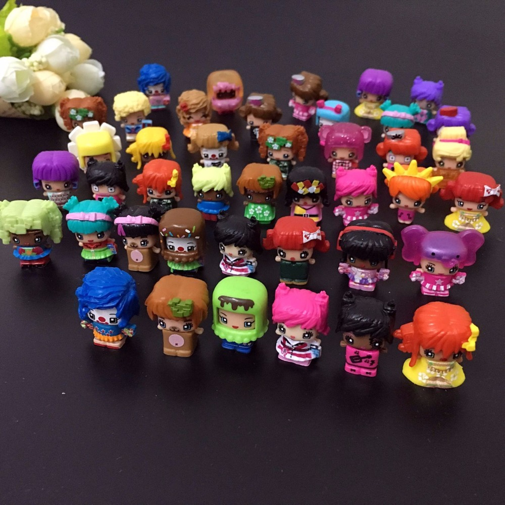 20 Pcs/lot MMMQs My Mini Mixie Qs Anime Dolls Mixieqs Assembling Girl Model Capsule Toys Action Figures Mixieqs Gift