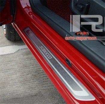 Накладка на порог для VW Scirocco MK3 2009 2010 2011 2012 2013