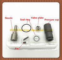 DCRI106250 095000 6250 Repair Kits Common Rail Injector 16600 EB70A Nozzle DLLA152P947 Valve Plate 10# O ring for 625#