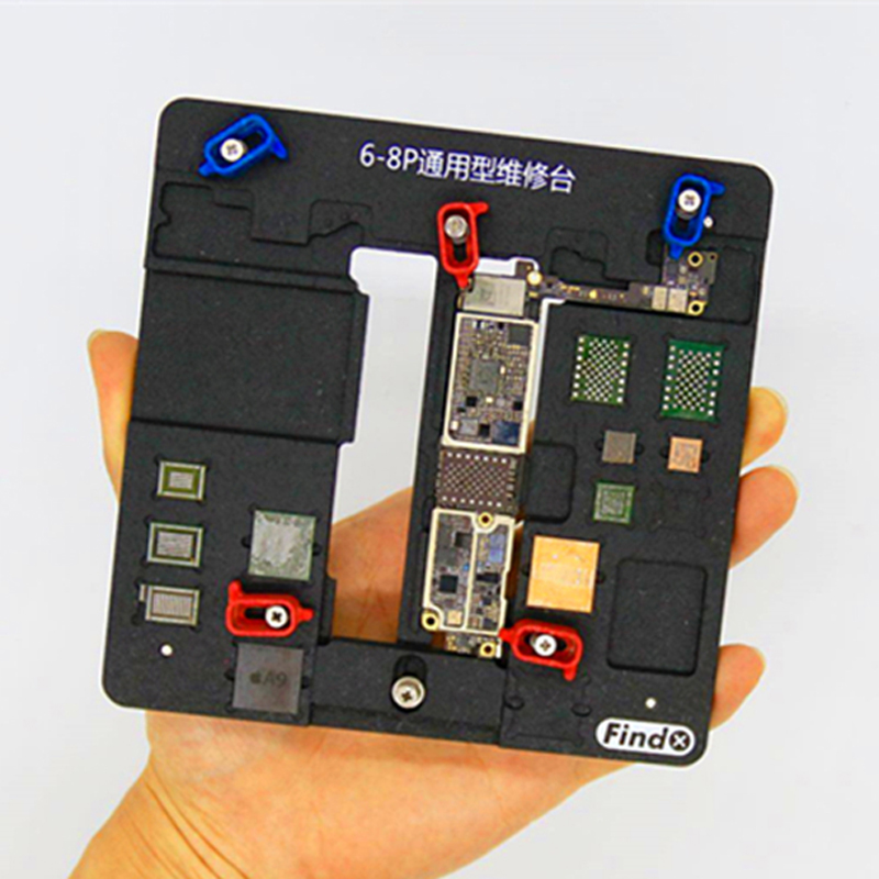 Newest Motherboard PCB Holder Jig Fixture Work Station for iPhone 8P 8 7 7P 6S 6SP 6 Logic Board A8 A9 A10 Chip Repair Tools newest circuit board pcb holder jig fixture work station for iphone 8 7 6sp 5s logic board a8 a9 a10 chip repair tool
