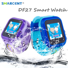 DF27 Kids GPS Smart Watch Swim Waterproof SOS Call Location Device Tracker Baby Safe Anti-Lost Smartwatch pk DF25 Q50 q100 q90
