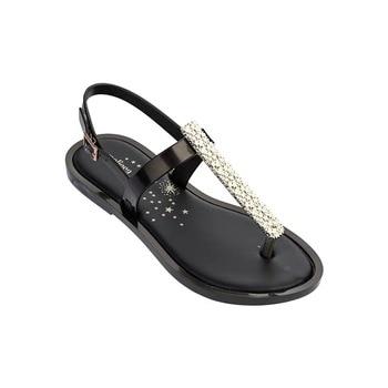 Melissa/женские босоножки; Новинка 2019 года; Блестящие Босоножки на толстой платформе с кристаллами; сандалии Melissa; Лидер продаж; пляжная обувь; ж...
