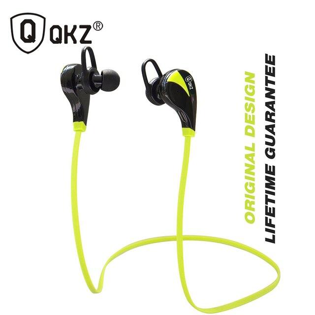 Оригинал QKZ G6 Беспроводная Связь Bluetooth 4.0 Гарнитура Работает Стерео Музыку Bluetooth Спорт Наушники Для Всех Смартфонов