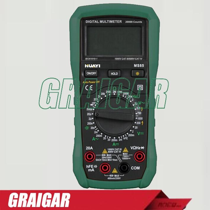 все цены на High quality MS85 Digital Multimeter Backlight DC AC Voltage Detector онлайн