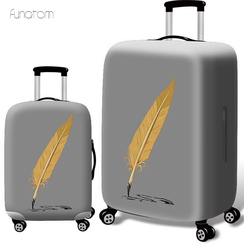 whaleprint Thicken Luggage Protective Cover 18 32inch Trolley Baggage Travel Bag Covers Elastic Protection Suitcase Case in Travel Accessories from Luggage Bags
