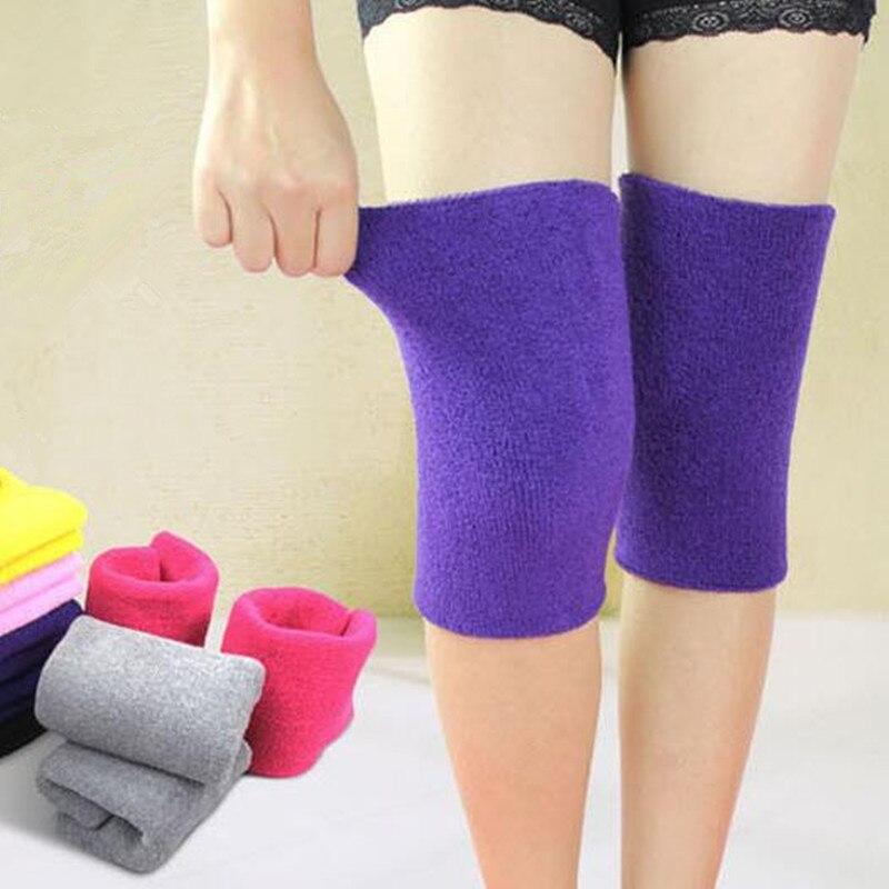 2 Pcs Warm Towel Kneepad Leggings Thicken Movement Dancing Basketball Kneepad Knee Warm Cold Protector de rodilleras knee sleeve