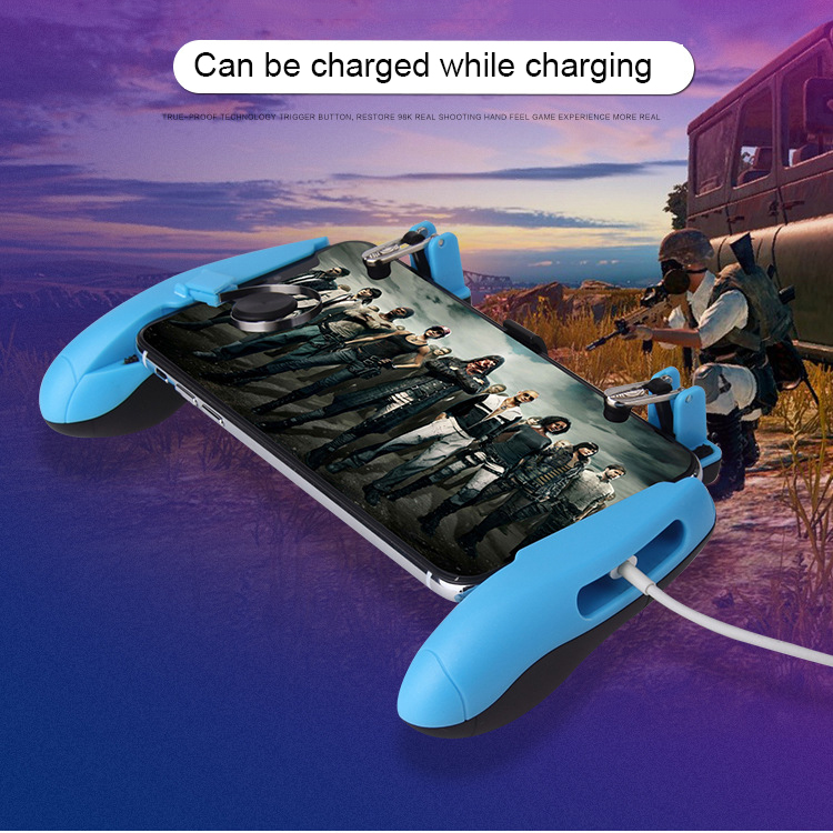 Mobile Game Controller Fortnited Free Fire PUGB Mobile Joystick triggers for cell phone Gamepad dzhostik L1 R1 for iPhone Gaming