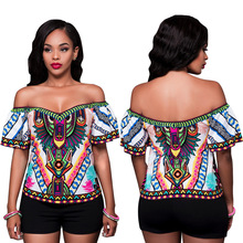 Hot Sale Sexy Digital Positioning Printing Shirt Women Fashion Blouse Women's Shirt