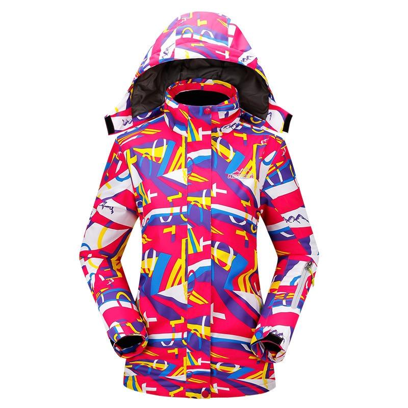 Professional Snow Clothes Women Windproof Waterproof Ski Jacket Coats Winter Warm Outdoor Sport Snow Skiing Snowboard