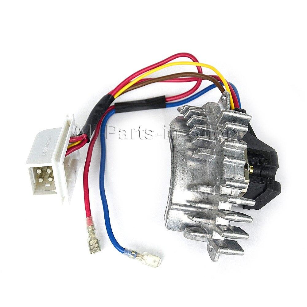 New 1 x blower motor regulator heater blower resistor for for Heater blower motor not working
