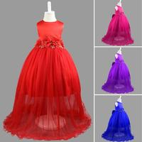 Children S Dress Girls Evening Gown Flower Wedding Princess Dress Kids Dresses For Girl Costume For
