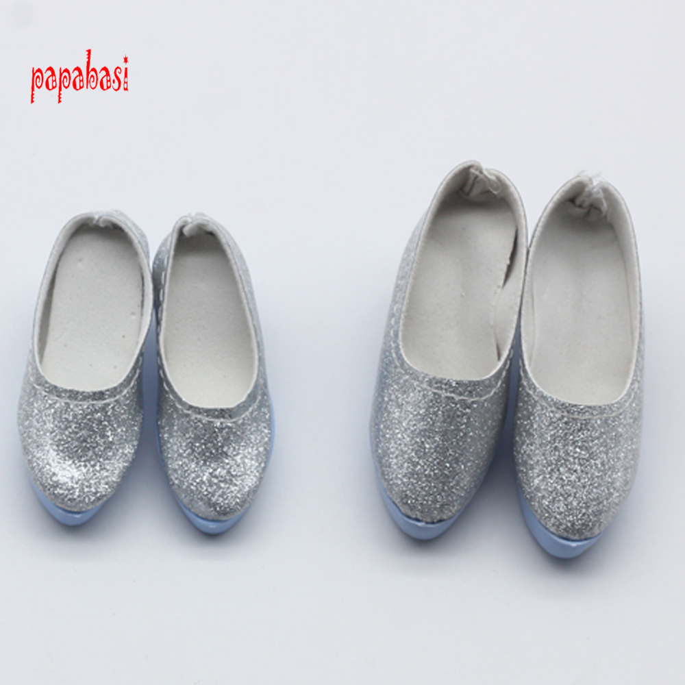 One Pair 6.3 or 7.8cm PU Leather Shoes for 1/4 1/3 BJD SD Dollfie Dolls Costome shoes fit 60cm SD doll uncle 1 3 1 4 1 6 doll accessories for bjd sd bjd eyelashes for doll 1 pair tx 03