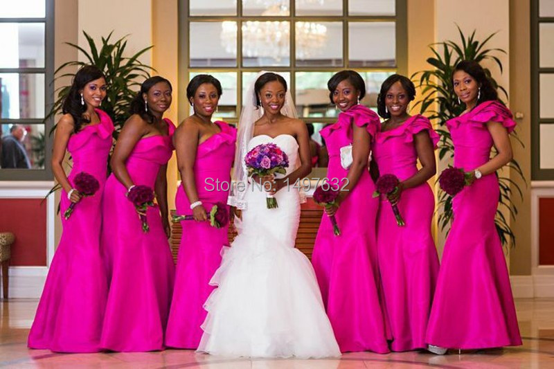 Popular Plum Colored Bridesmaids Dresses-Buy Cheap Plum Colored ...