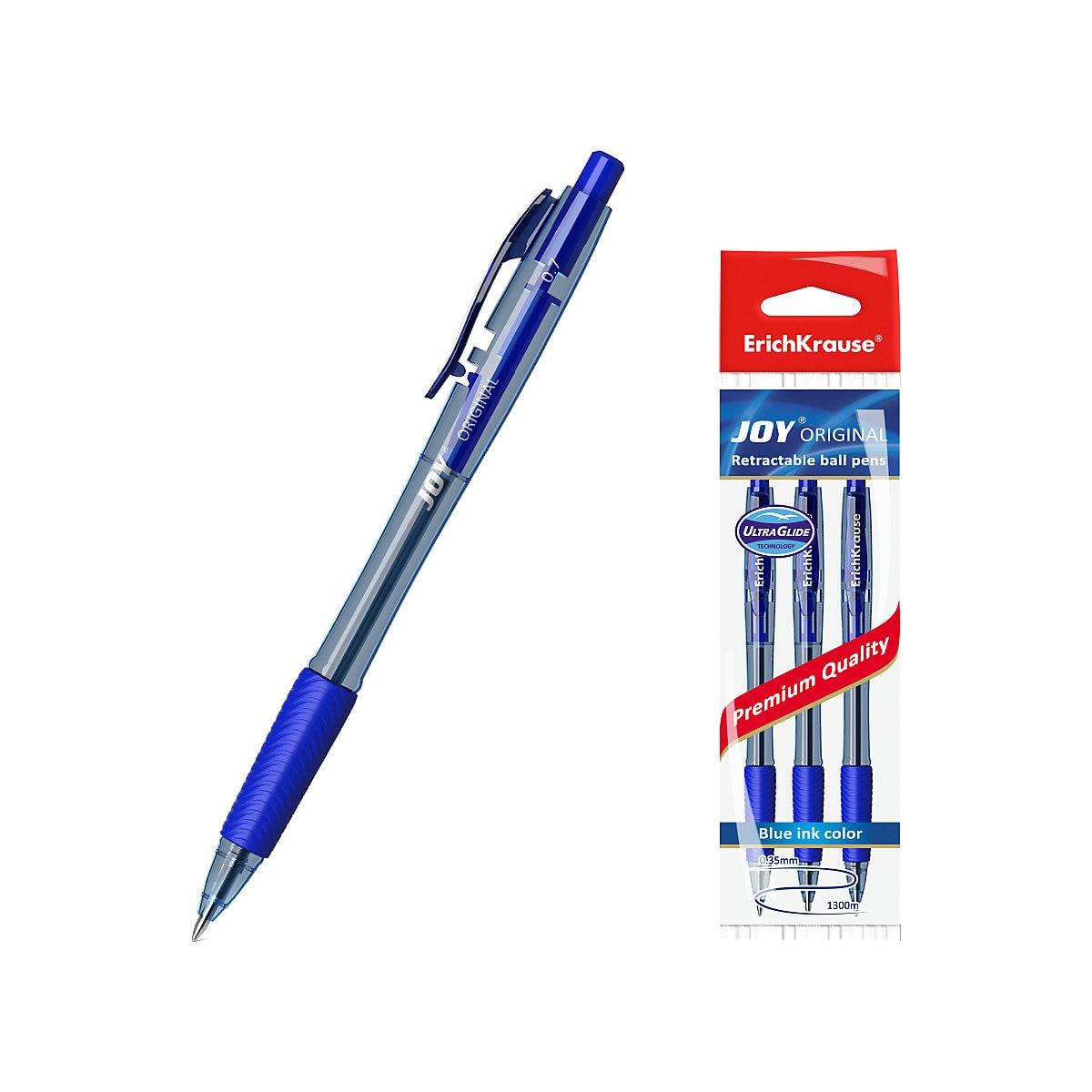 ERICHKRAUSE Pen Grips 11174028 Pens ball the gel pencils writing supplies MTpromo 6pcs ball game props body paint pen