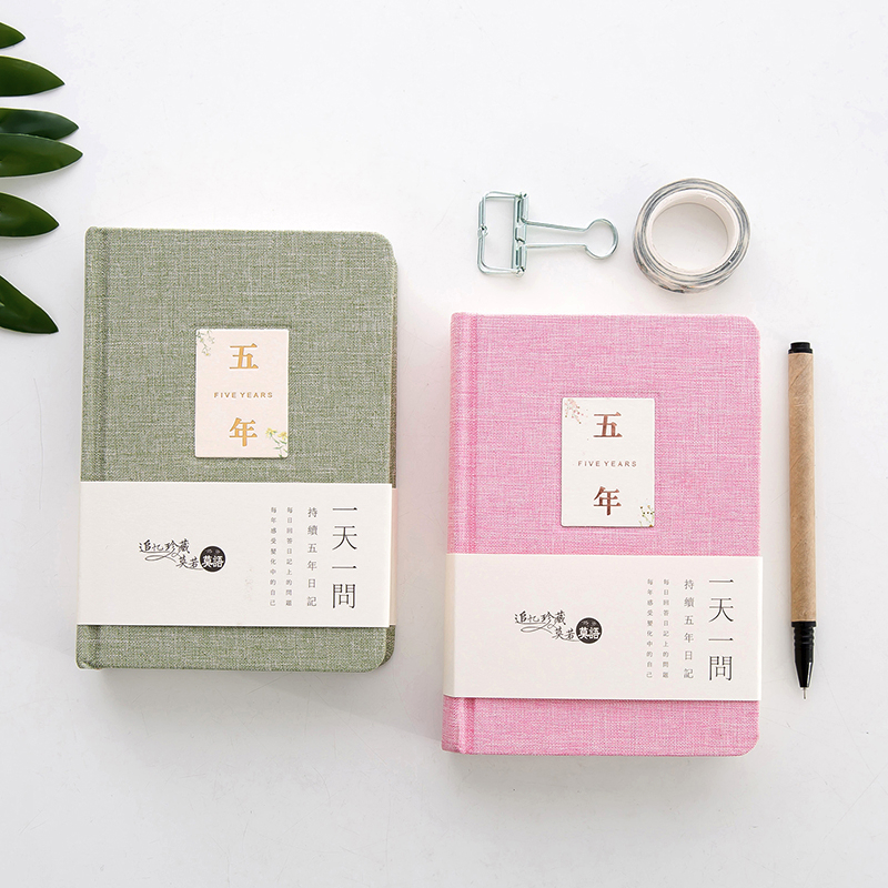Planner 2017 Five-Year Diary Three-Year Schedule Creative Thicker Plan Notebook Vintage Notebook High Grade Student Stationery 2017 a5 week schedule the plan diary book notebook notebook korea creative stationery diary hand account