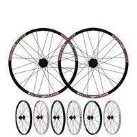 Bicicletas MTB Carretera Montaña Bicicletas 24 pulgadas Disco de Freno de Rueda Llanta para cubierta de Ruedas 24 Hoyos Hubs