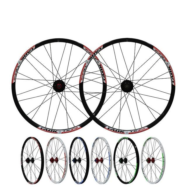 MTB Mountain Bikes Road Bicycles 24 inch Hubs Disc Brake Wheel Wheelset Clincher Rim 24 Holes