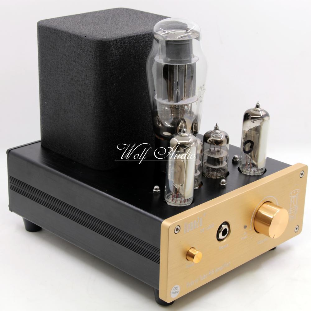 U202 Гибридный класса ламповый усилитель для наушников USB ЦАП аудио Decorder HiFi клапана предусилителя