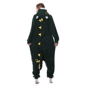 Image 5 - Halloween Kigurumi Pigiama Anime Unisex con cappuccio Degli Indumenti Da Notte di Coccodrillo Tute Monopezzo Pigiama Cosplay Costume di Carnevale Del Partito di Travestimento