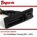 Car Reverse Backup For VolksWagen Touareg 2011 ~ 2016 Trunk Handle OEM wireless CCD HD Night Vision Rear View Camera