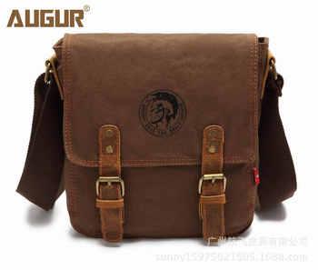 Thick canvas bag high quality men messenger bags fashion shoulder bags brand men bag - DISCOUNT ITEM  58% OFF All Category
