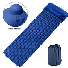 Camping Sleeping Mat Automatic Inflatable Compact Portable Moisture-Proof  Air Mattress Splicing Pad Carpet