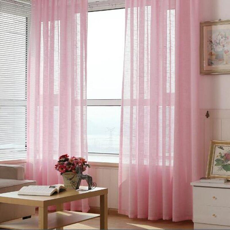 persianas cortinas de tul de color slido gris amarillo boda drapeado tela cortinas para la sala