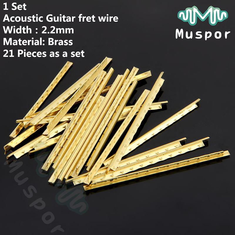21 pcs set brass acoustic guitar fret wire width fingerboard line fret wire free shipping. Black Bedroom Furniture Sets. Home Design Ideas