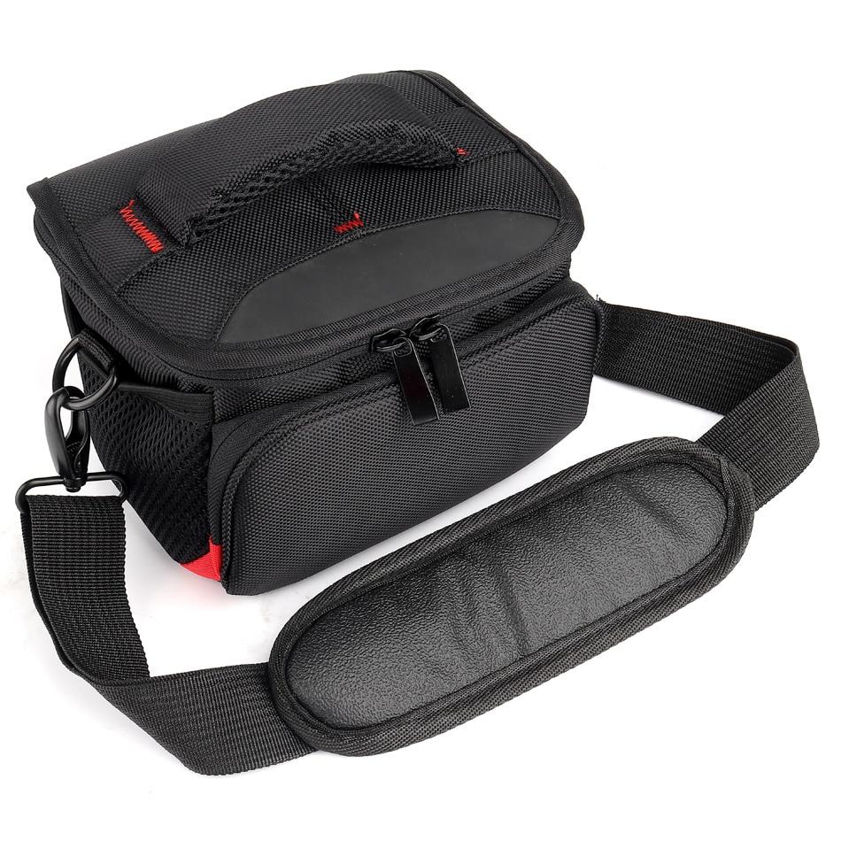 HUWANG Digital Camera Bag Case For Canon EOS M5 M6 M10 M100 M50 M3 M2 M SX540 SX520 SX530 SX420 SX430 G9X G7X Mark ii G5X SX730