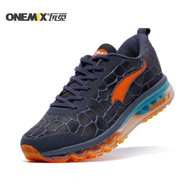 ONEMIX 2016 подушки кроссовки оригинал zapatos де hombre мужчины спортивное открытый спортивная обувь мужчины кроссовки размер 39-46