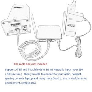 Image 4 - ! Livraison gratuite! Yeacomm KIT CPE WIFI 4g, pour lextérieur et lintérieur YF P11K